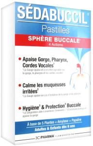 3c pharma sédabuccil pastilles sphère buccale 30 pastilles