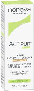 Actipur crème anti -imperfections teintée claire