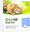 Bayer drontal chat duo 4 comprimés