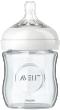 Avent natural biberon verre pur et résistant 120 ml 0 mois et +